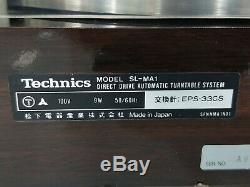 Technics Sl-ma1 Système De Plateau Tournant Automatique À Entraînement Direct En Très Bon État