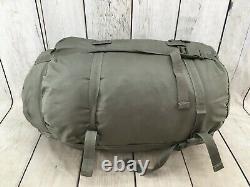Us Military 4 Piece Sac De Couchage Modulaire Système De Sommeil En Bon État