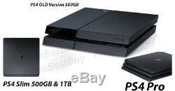 Utilisation Très Bon Etat Console Sony Playstation 4 Ps4 Slim / Pro Uniquement