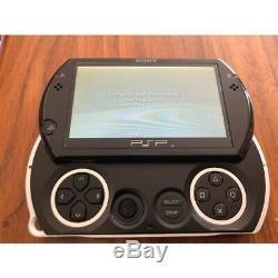 Utilisé Psp Go Playstation Portable Sony Noir 16 Go Bonne Condition Console De Jeux