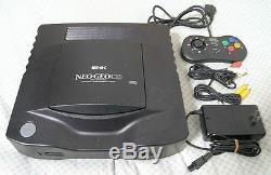 Utilisé Snk Neo Geo CD Console System À Partir De Japon Jeu Bon État Livraison Gratuite