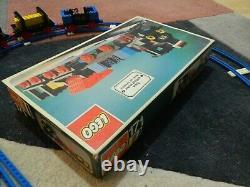 Vintage Lego Train 171 Complet Avec Piste Supplémentaire Très Bon État Boxed Rare