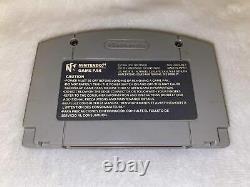 Wcw Backstage Assault Rare Variante Grise Nintendo 64 N64 Bonne Forme, Testé