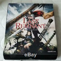 Xbox 360 Last Remnant Console Japon Bon Etat Article Rare