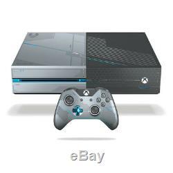Xbox One 1tb Limited Edition Halo 5 Guardians Console Très Bon État