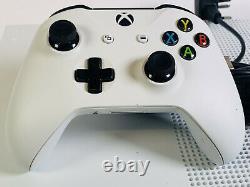 Xbox One S Édition Tout Numérique 1tb Blanche Console Bonne Condition Fonctionne Parfaitement
