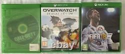 Xbox One X Console 1tb Noir +3 Jeux + Garantie + Fonctionne Parfait Bon État