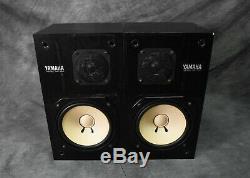 Yamaha Ns-10m Speaker System En Très Bon État Japonais Vintage