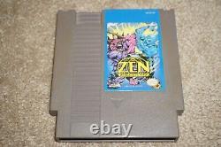Zen Intergalactic Ninja (nintendo Entertainment System Nes) Chariot Seulement Bonne Forme